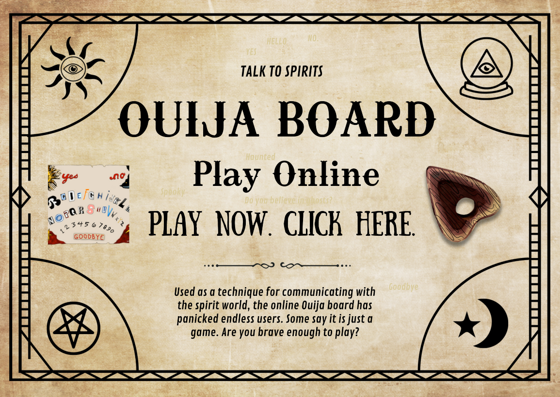 Click to play Ouija Board